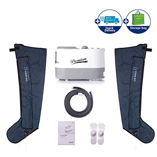 Air  Compression System by DSMAREF : Sequential Compression Device,  Compression Pump, Recovery Boots, Blood Circulation Machine for Legs,  Leg Massager. (Size : L)