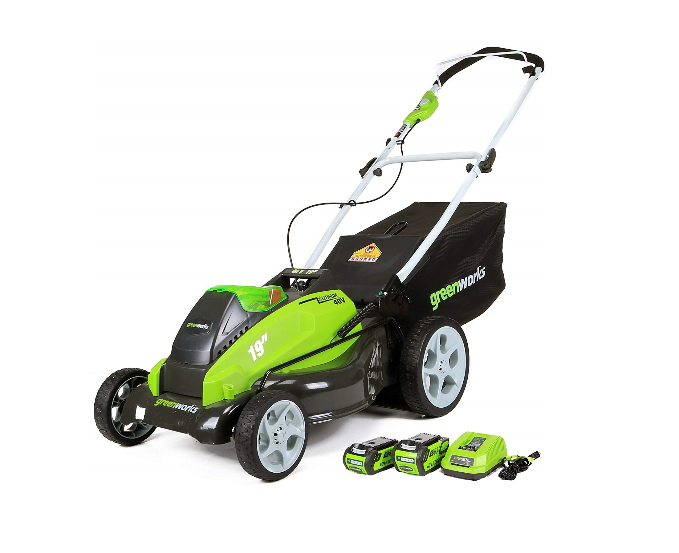 Top 5 best Cordless Lawn Mower in 2019 reviews