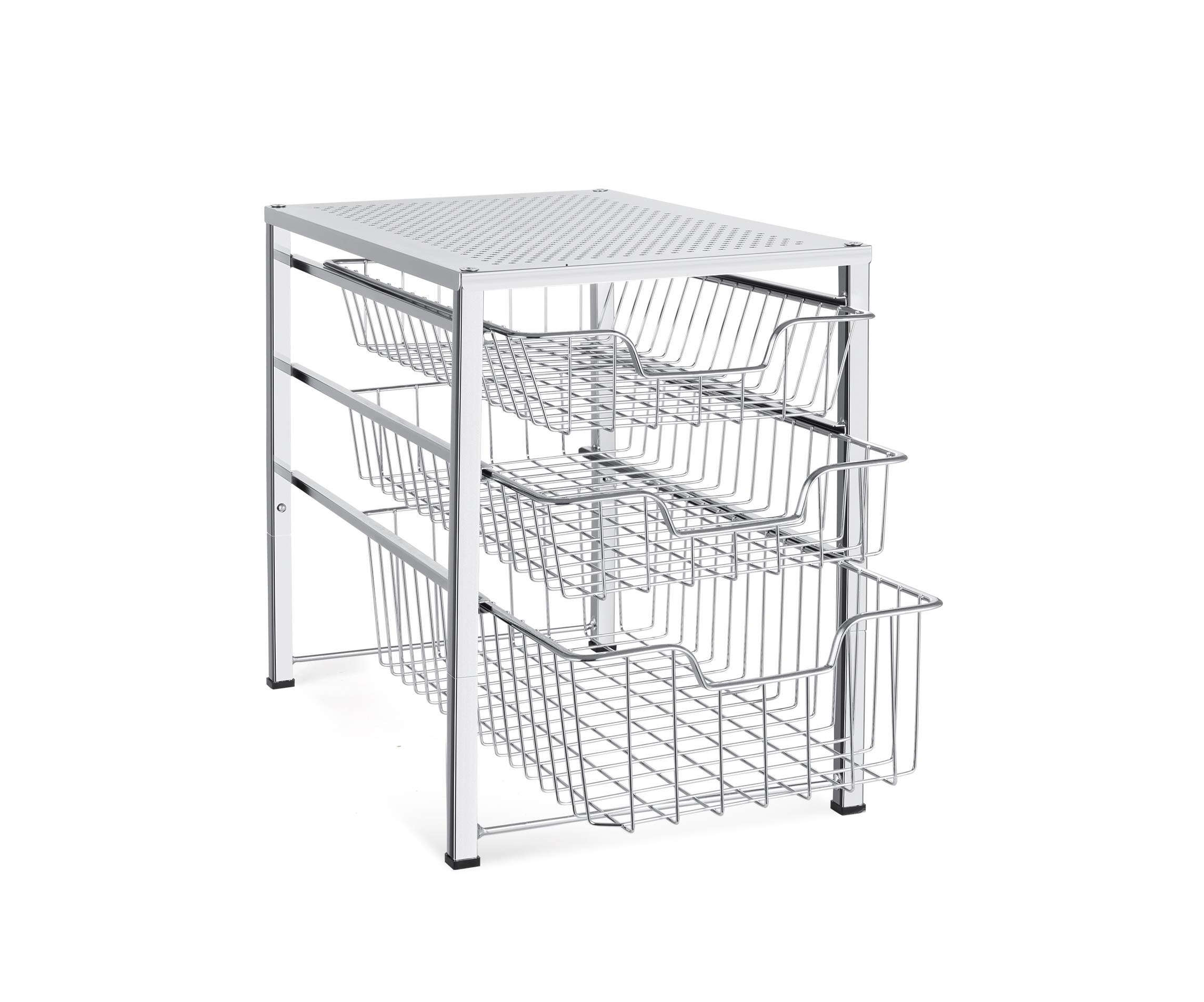 Top 5 Best Expandable Under Sink Storage Racks in 2020 Reviews