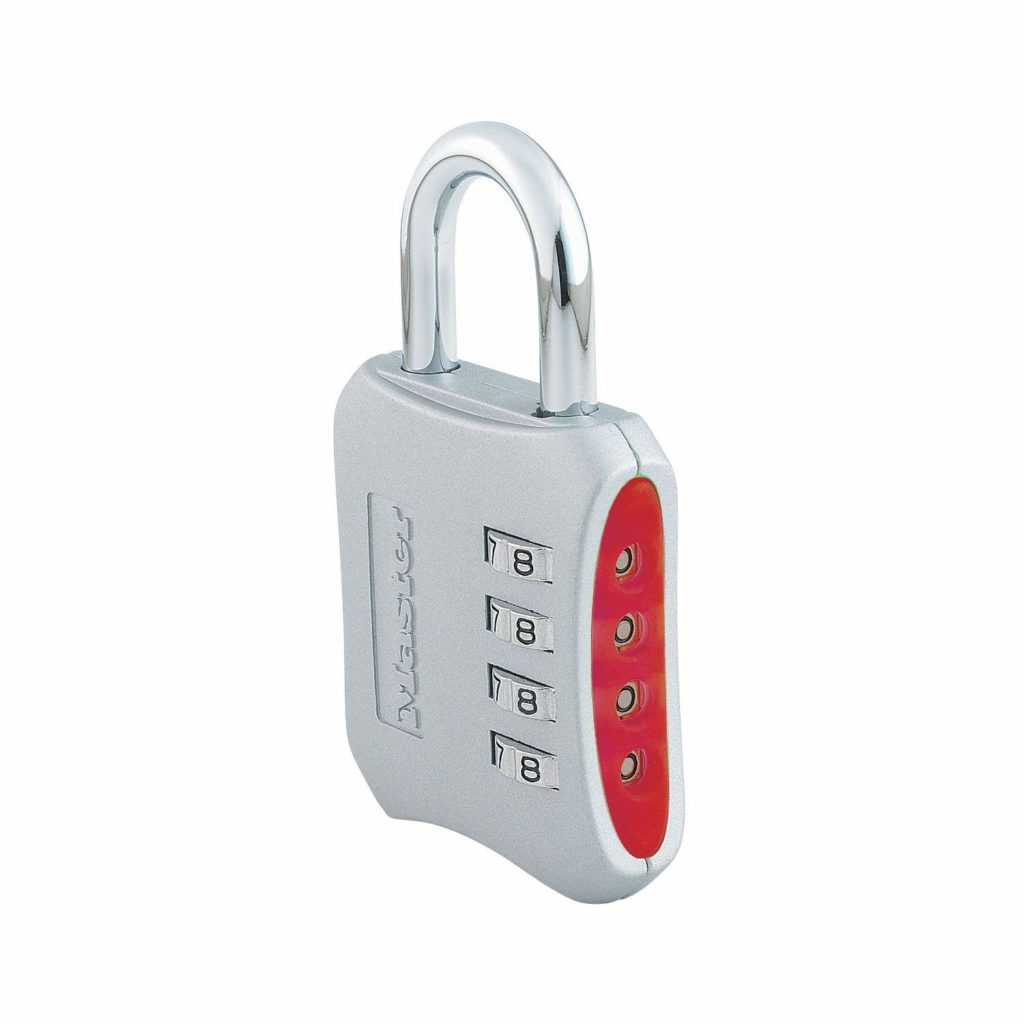 Master Lock 653D Set-Your-Own-Combination 2-inch Padlock