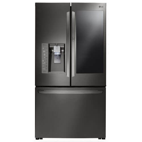 LG LFXC24796D/LFXC24796D/LFXC24796D 23.5 Cu. Ft. Black Stainless Counter-Depth French Door Refrigerator