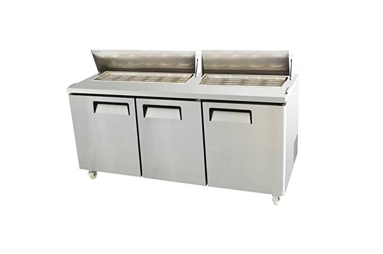 Top 5 Best Sandwich Prep Table For 2020 Reviews