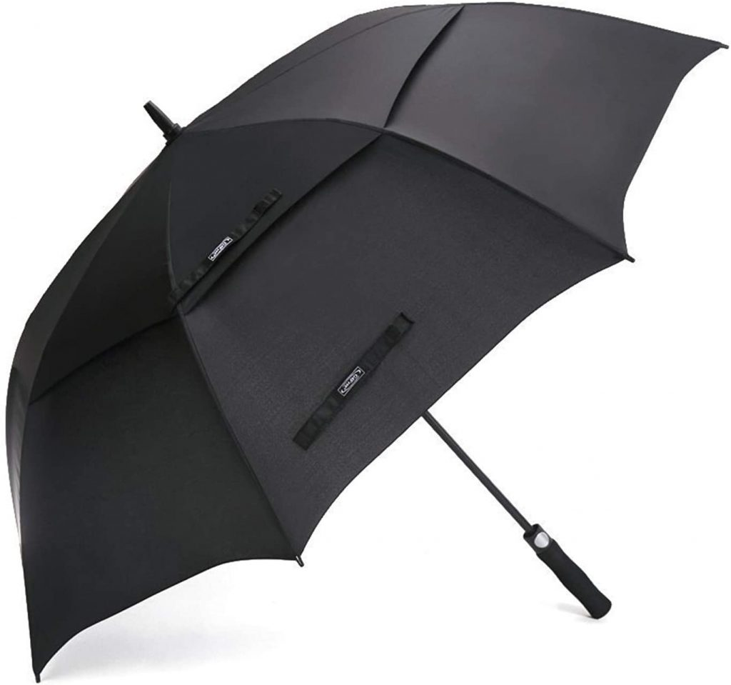5. G4Free 54/62/68 Inch Automatic Open Golf Umbrella Extra Large Oversize Double