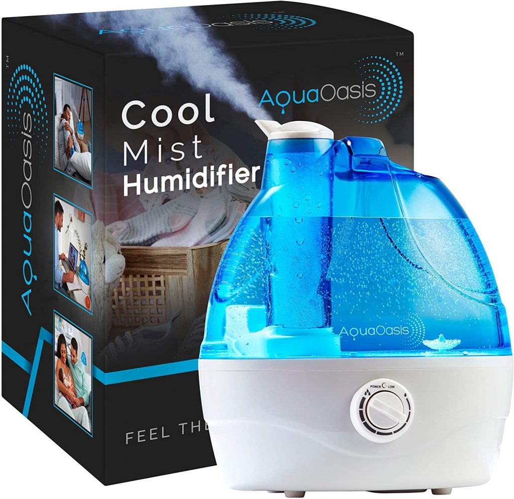 2. AquaOasis™ Cool Mist Humidifier {2.2L Water Tank} Quiet Ultrasonic Humidifiers for Bedroom & Large room